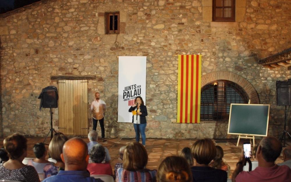 Presentació de Laura Navarro com a candidata de Junts per Palau-solità i Plegamans